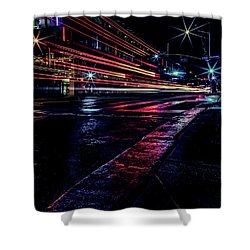 City Streaks Shower Curtain
