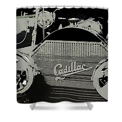 Classic Cars 12 Shower Curtain