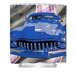 Classic Cars 3 Shower Curtain