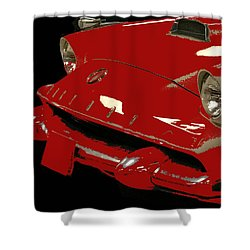 Classic Cars 8 Shower Curtain