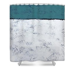 Clear And Bright Shower Curtain