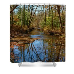 Shower Curtain featuring the photograph Clear Path by Cindy Lark Hartman