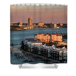 Clearwater Evening Shower Curtain