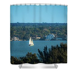 Clearwater Sails Shower Curtain