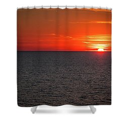 Clearwater Sunset Shower Curtain