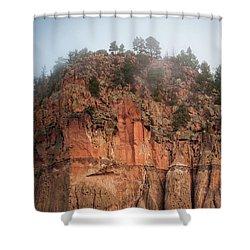 Cliff Face Hz Shower Curtain