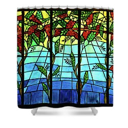 Climbing Vines Shower Curtain