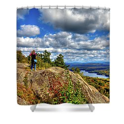 Shower Curtain featuring the photograph Close To Heaven On Earth by David Patterson