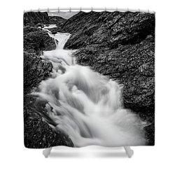 close to Ygnisdalselvi, Norway Shower Curtain