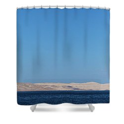 Shower Curtain featuring the photograph Cloud by Davor Zerjav