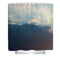 Shower Curtain featuring the photograph Cloud-scape 1 by Stewart Marsden