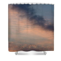 Shower Curtain featuring the photograph Cloud-scape 5 by Stewart Marsden