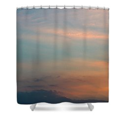 Shower Curtain featuring the photograph Cloud-scape 7 by Stewart Marsden