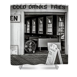 Cold Drinks Shower Curtain