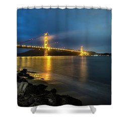 Cold Night- Shower Curtain