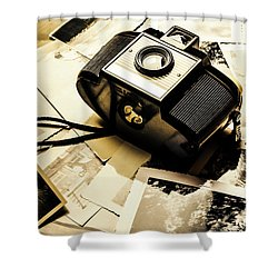 Collecting Scenes Shower Curtain