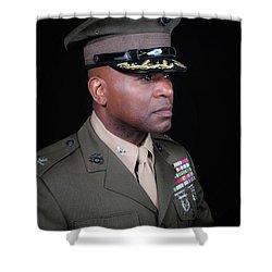 Colonel Trimble 1 Shower Curtain
