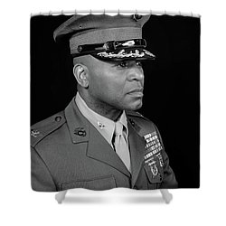 Colonel Trimble Shower Curtain