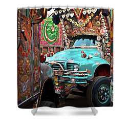 Truck Art Shower Curtain