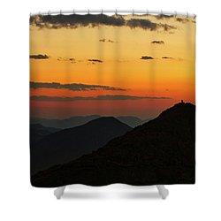 Evening At Mount Evans Shower Curtain