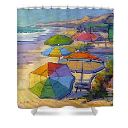 Colors Of Crystal Cove Shower Curtain