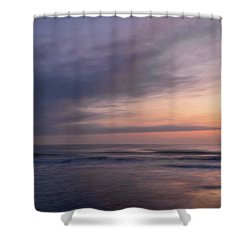 Shower Curtain featuring the photograph Colors Of Dawn by John M Bailey