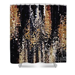 Shower Curtain featuring the painting Colossians 1 16. Your Creator by Mark Lawrence