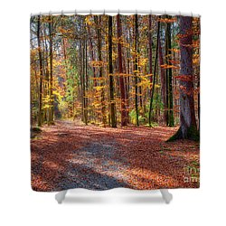 Shower Curtain featuring the photograph Colours Of Nature by Edmund Nagele