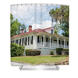 Columbia County Visitors Center - Savannah Rapids Shower Curtain