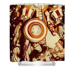 Comic Collector Inc. Shower Curtain