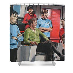 Comic Relief Shower Curtain
