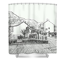 Coniston High Street Shower Curtain