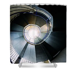 Convoluted Staircase  Shower Curtain