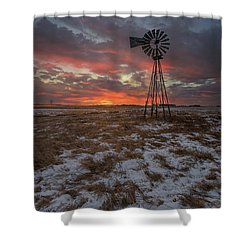 Shower Curtain featuring the photograph Cool Breeze  by Aaron J Groen