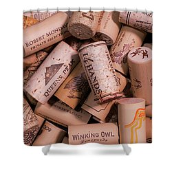 Wine Lovers Shower Curtain