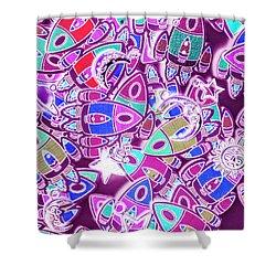 Cosmic Creativity Shower Curtain