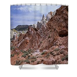 Cottonwood Spires 1 Shower Curtain
