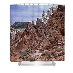 Cottonwood Spires 1-v Shower Curtain