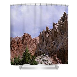 Cottonwood Spires 2 Shower Curtain