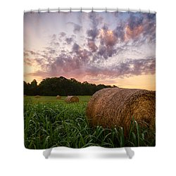 Shower Curtain featuring the photograph Country Sunrise by Mark Guinn
