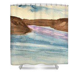 County Lake Shower Curtain