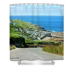 Cove Hill Sennen Cove Shower Curtain