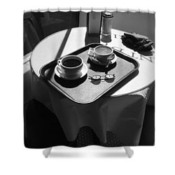 Crescent D'or New Orleans Shower Curtain