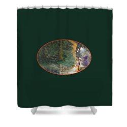 Crossing Timber Bridge Shower Curtain