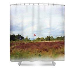 Culloden Battlefield Painting Shower Curtain