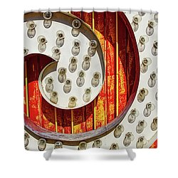 Shower Curtain featuring the photograph Curl by Skip Hunt