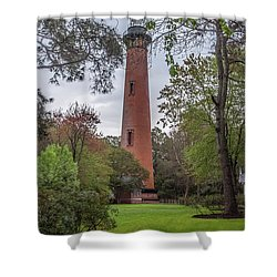 Currituck Beach Light Shower Curtain