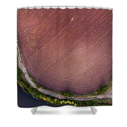 Shower Curtain featuring the photograph Curved Pathway by Okan YILMAZ