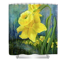 Daffodil Dream Shower Curtain