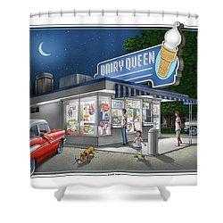Dairy Queen Shower Curtain